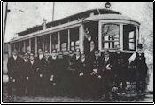 Historic shot of public transport
