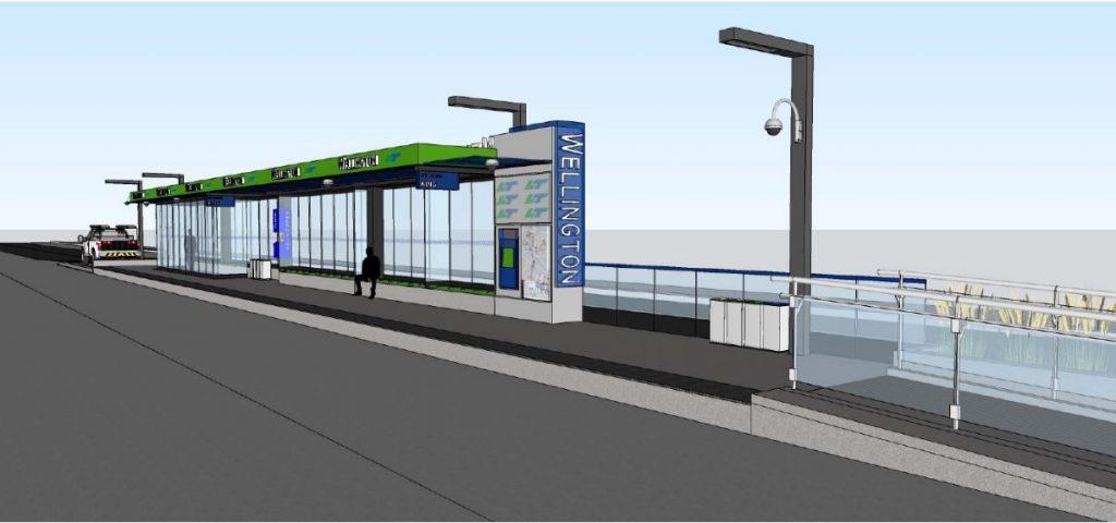King and Talbot Rapid Transit Station Rendering