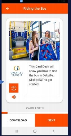 Image of the MagnusCard as it appears on the app